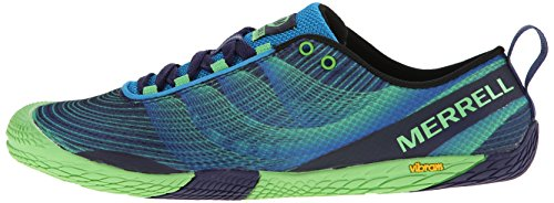 Merrell Men's Vapor Glove 2 Trail Running Shoe, Racer Blue/Bright Green, 8 M US by Merrell (Image #5)