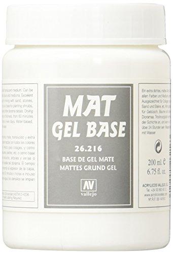 - Vallejo Mat Gel Base, 200ml