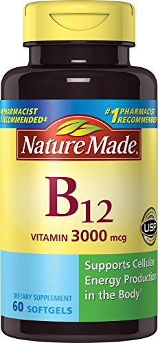 Nature Made Vitamin B12 3000 mcg. Softgels 60 Ct