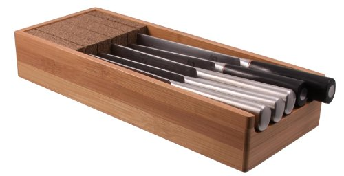 Knifedock - In-drawer Kitchen Knife Storage - The Cork Composite Material Never Dulls Your Blades. Great Gift for Any Chef! Enables you to Easily Identify Your Knives At a Glance. by Knife Dock (Image #6)