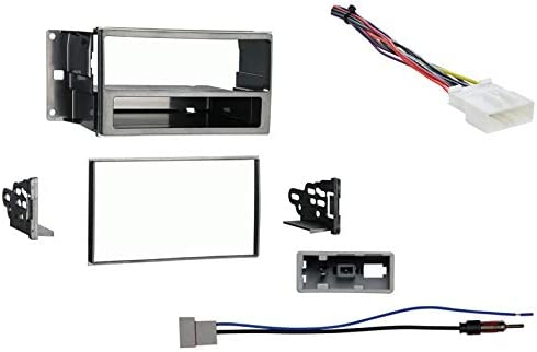 Amazon Com Compatible With Nissan Cube 2009 2010 2011 2012 2013 2014 Single Double Din Stereo Harness Radio Install Dash Kit Car Electronics