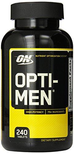 Supplément Optimum Nutrition Opti-Men, 240 comte