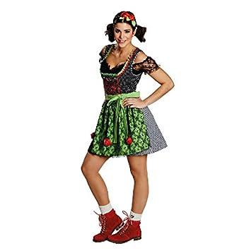 Disfraz Funny tirolesa (Talla 36 - 42 Mujer Traje Tradicional De ...