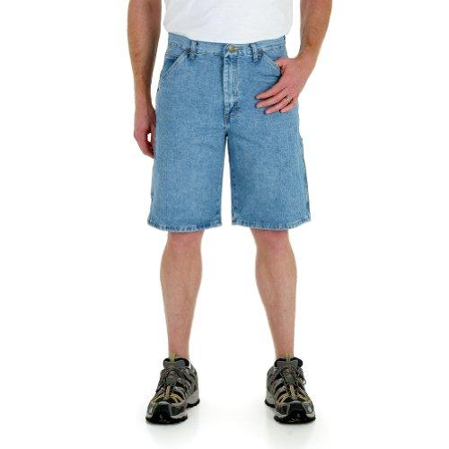 Wrangler Men's Big Rugged Wear Carpenter Short Vintage - Indigo Wrangler Shorts