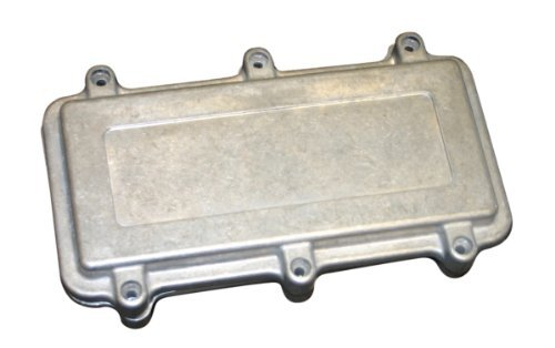 BUD Industries ANS-3835 Aluminum NEMA Die Cast Box with EMI/RFI Shielding, 10-19/64 Length x 7-5/32 Width x 3-17/32 Depth, Natural Finish by BUD Industries by BUD Industries