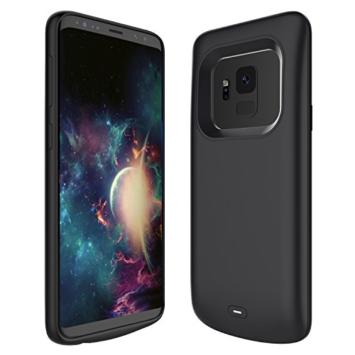 newest b7e05 38705 Samsung Galaxy S9 Battery Case, FugouSell 4700mAh Rechargeable Extended  Battery Backup Charger Case External Juice Pack Portable Power Bank  Protective ...