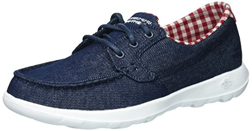 Skechers Women\'s Go Walk Lite - Luna Boat Shoe,