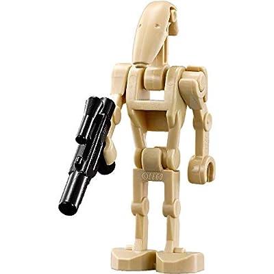 LEGO Star Wars Minifigure Battle Droid with Blaster Gun (Clone Wars): Toys & Games