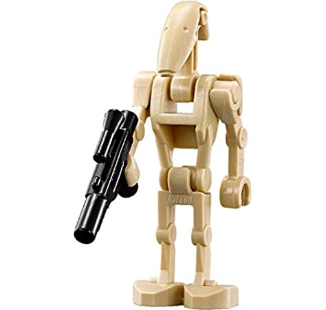 16 Battle Droid Minifigure Reddish Brown Lot Star Wars Building Blocks