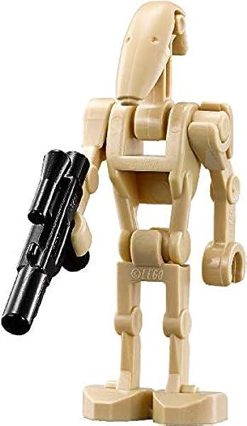3 Star Wars Minifigures Clone Wars General Grievous Battle Droids Fits Lego
