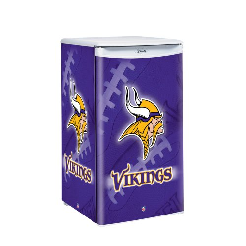 NFL Minnesota Vikings Counter Top Refrigerator, 3.2 Cubic Feet