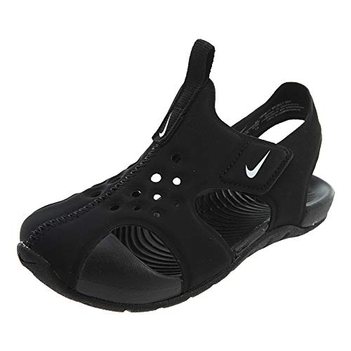 Mixte Black TD de Protect 2 001 White Nike Sandales Sunray Enfant Sport Noir FXWvXSR0