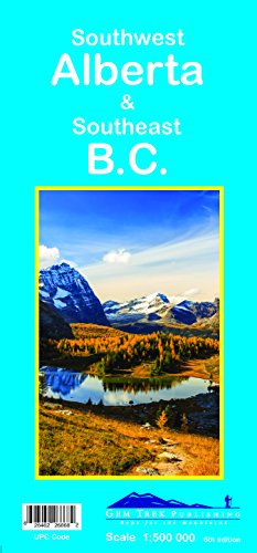 Southwest Alberta & Southeast B.C. Map