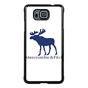 Beautiful Classic Abercrombie and Fitch Black Case For Samsung Galaxy Alpha