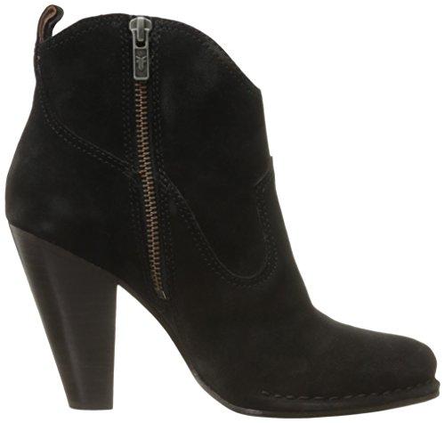Frye Womens Madeline Short Suede Boot Nero
