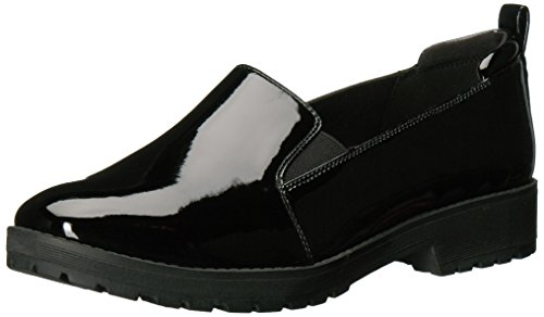Women's Believer Synthetic Loafer, Black, 7.5 M US (Anne Klein Loafers)