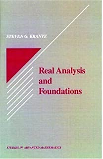 Solutions manual for real analysis and foundations steven g krantz real analysis and foundations by steven g krantz 1991 09 12 fandeluxe Choice Image