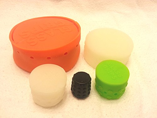 5-Piece-Glass-Grips-Silicone-Water-Pipe-Cleaning-Caps-Set-Assorted