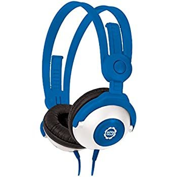 Amazon.com: Kidz Gear Wired Headphones For Kids - Blue