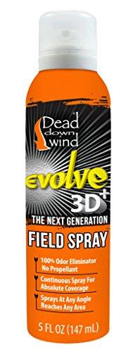 Dead Down Wind Evolve Field Spray – 5 oz, Unscented, Broad-Spectrum, Odor-Eliminating Hunting Spray