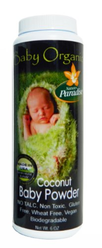 Baby Powder Coconut - Organic By Natures Paradise
