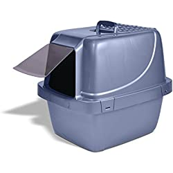 Extra-Giant, Odor & Stain Resistant Enclosed Cat Litter Pan