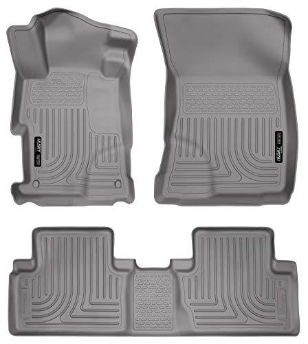 Floor Tan 4 Front Door (Husky Liners Front & 2nd Seat Floor Liners Fits 12-13 Civic 4 Door)
