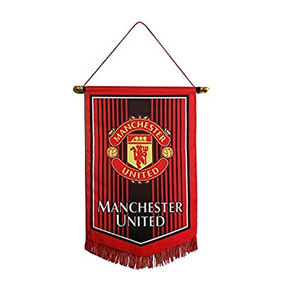 "Louishop Football Club Indoor and Outdoor Flags Vivid Color Hanging Flags Decor for Bedroom/Club/Bar/Event 15""x9.4"""
