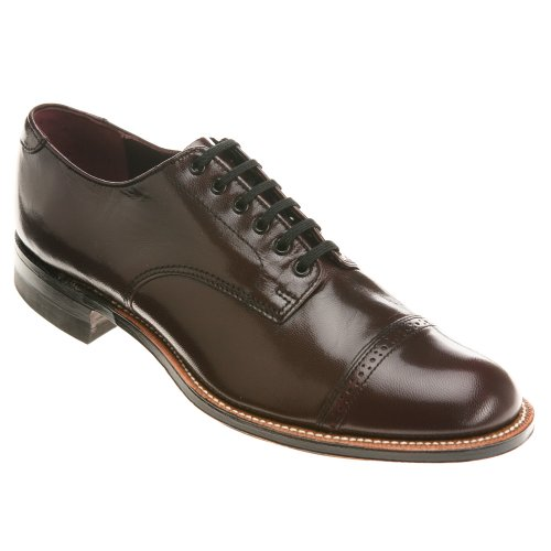 Stacy Adams Madison 00012 Menns Oxford 10,5 2e Oss Burgunder