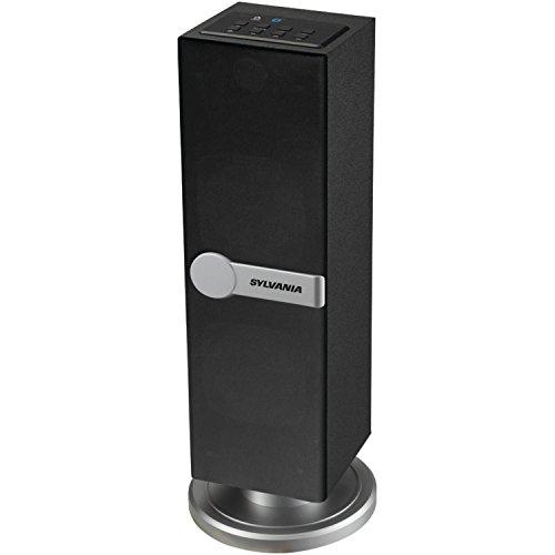 Sylvania SP269-Black Bluetooth Floor Standing Tower Speaker (Certified Refurbished) by Sylvania