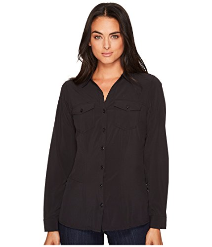 ExOfficio Women's Kizmet¿ Long Sleeve Shirt Black Small