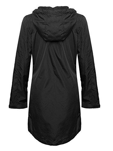 Blouson Femme Noir Taille Shelikes Unique Oxqnznd
