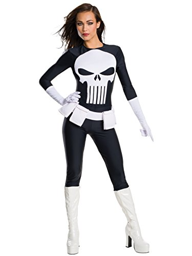 Rubie's Women's Marvel Universe Punisher, As Shown, -