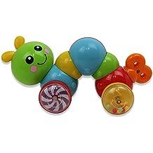 [Patrocinado] bebé Press N Go Caterpillar Inchworm Sonajero de Bebé Push Actividad juguete