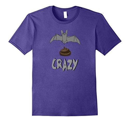Mens Batcrap Crazy Hilarious Halloween Costume Novelty Tshirts 2XL (Hilarious Halloween Pics)