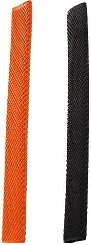 Baosity 2Pcs Billiard Cue Grips Sleeve Accessories Pool Cue Rubber Handle Wrap Grip
