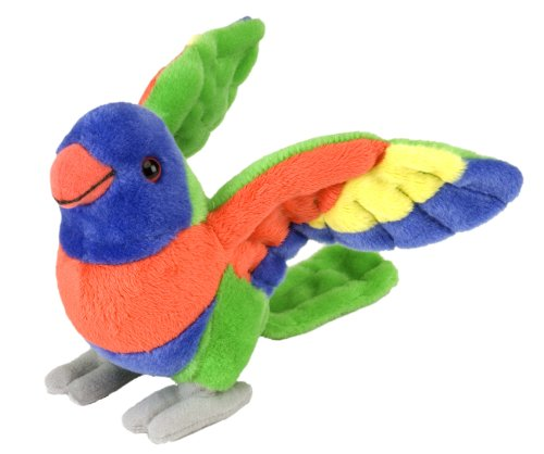 Wild Republic Lorikeet Plush, Stuffed Animal, Plush Toy, Gifts for Kids, Cuddlekins 8 Inches