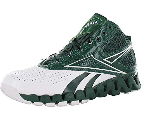 Reebok Zig Pro Future Women's Basketball Shoe (A9.5, White/Forest) (Reebok Mens Zig Pro Future Basketball Shoe)