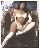 Silvia Colloca 8x10 Autographed Photo UACC Dealer