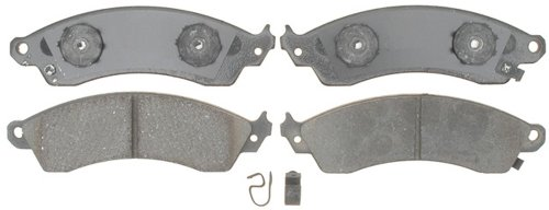 ACDelco 17D412C Professional Ceramic Front Disc Brake Pad Set