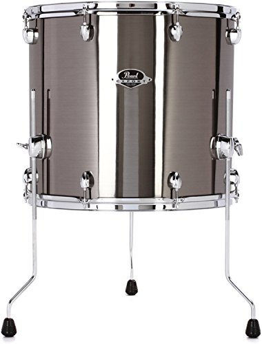 Pearl Export Series Floor Tom - 18 Inches X 16 Inches, Smokey Chrome by Pearl