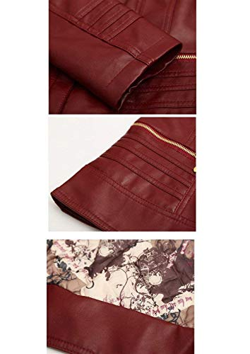 Fashion Cerniera Blau Invernali Fit Giacca Monocromo Forti Slim Con Ragazza Pelle Coat Chic Libero Tempo Elegante Outerwear Cappotto Taglie In Similpelle Autunno Donna IIxOqw7UB