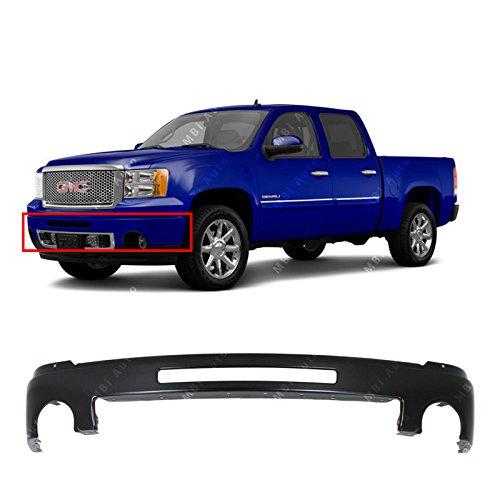 (MBI AUTO - Primered, Steel Front Bumper Face Bar Shell for 2007-2013 GMC Sierra 1500 Denali Pickup 07-13, GM1002832)