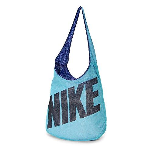 Nike Graphic Reversible Tote Handbags (Omega Blue) (Bag Yoga Nike)