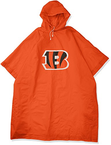 The Northwest Company Officially Licensed NFL Cincinnati Bengals Deluxe Poncho