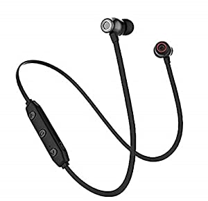 Bluetooth wireless headset can last for over 6 hours to 8 hours' music playtime on a single charge. Ergonomic designed headphones that conforms with the shapes of your ear,along with ,  earbud stays in your ear securely.Regarding comfort,it feels so ...