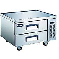 SABA Heavy Duty Commercial 36 2 Drawer Refrigerated Chef Base