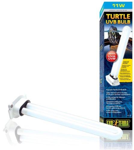 Exo con lámpara de Terra UVB Fixture Turtle 13 UVB lámpara WE2YDeH9I
