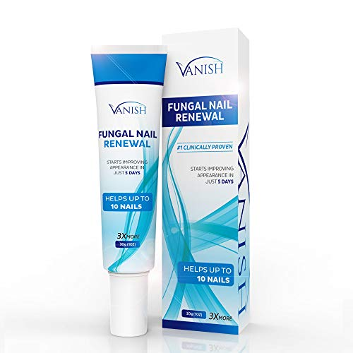 Vanish Fungal Nail Renewal, Nail Fungus Renewal Cream, for Toenail and Fingernail Treatment | 3x more cream, 30 ml | Helpful E-Book Included