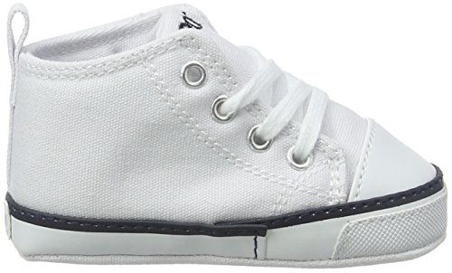 Ralph Lauren Unisex Baby Hamptyn Hi Layette Sneaker White (White)